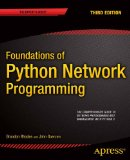 Foundations of Python Network Programming:   2013 edition cover