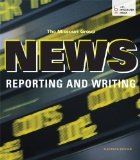 News Reporting and Writing:   2013 edition cover