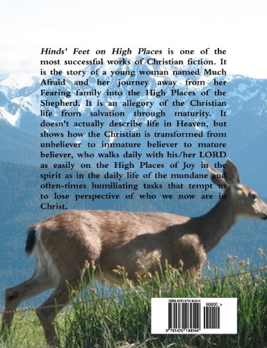 Hinds' Feet on High Places  N/A edition cover