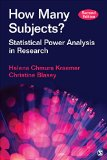 How Many Subjects? Statistical Power Analysis in Research 2nd 2016 edition cover