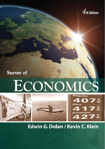 Intro to Survey of Economics 4th 2010 edition cover