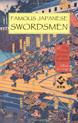 Famous Japanese Swordsmen Of the Period of Unification  2009 edition cover