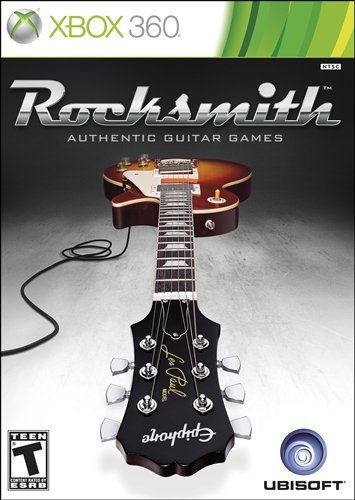 Rocksmith Xbox 360 artwork