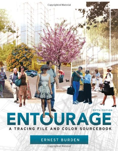 Entourage A Tracing File and Color Sourcebook 5th 2011 edition cover