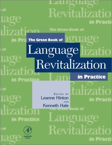 Green Book of Language Revitalization in Practice   2001 edition cover