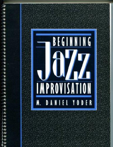 Beginning Jazz Improvisation N/A edition cover