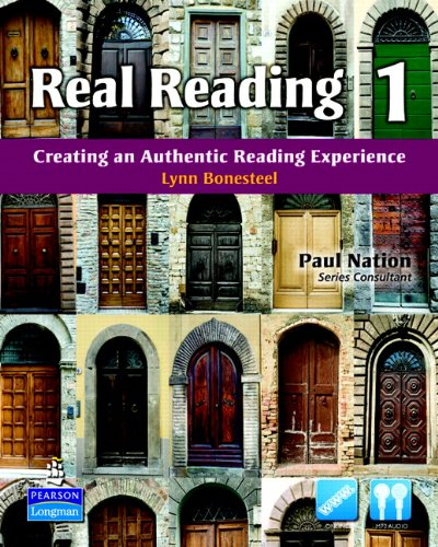 Real Reading 1 Creating an Authentic Reading Experience  2011 edition cover