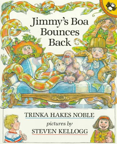 Jimmy's Boa Bounces Back  N/A edition cover