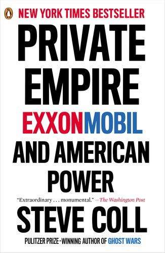 Private Empire ExxonMobil and American Power  2013 edition cover