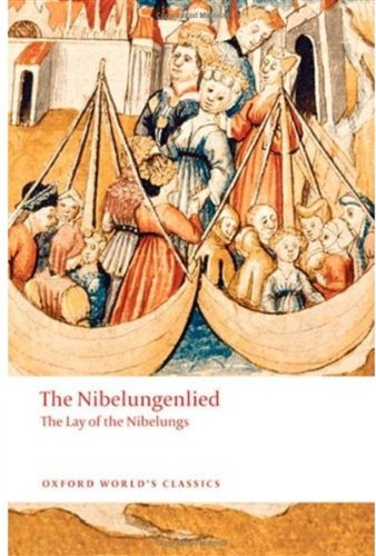 Nibelungenlied The Lay of the Nibelungs  2010 edition cover
