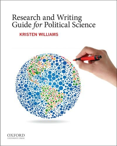 Research and Writing Guide for Political Science:   2013 edition cover
