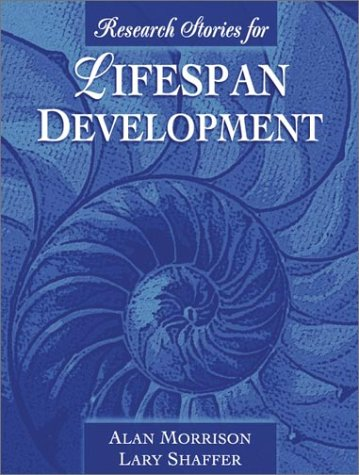 Research Stories for Lifespan Development   2002 edition cover