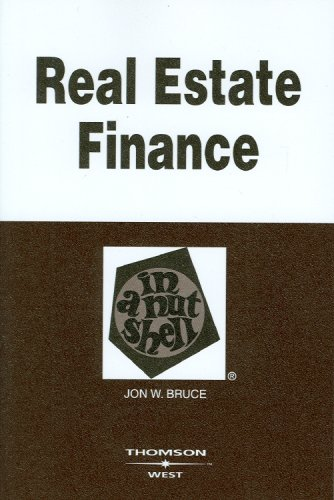 Real Estate Finance  6th 2009 (Revised) edition cover
