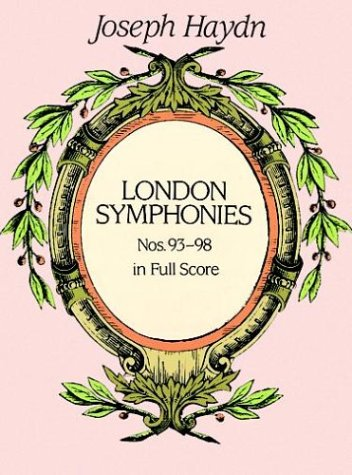 London Symphonies Nos. 93-98  N/A edition cover