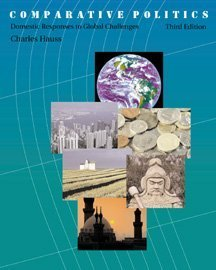 Comparative Politics Domestic Responses to Global Challenges 3rd 2000 9780534567545 Front Cover