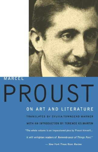 Marcel Proust on Art and Literature, 1896-1919  2nd edition cover