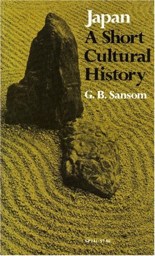 Japan A Short Cultural History 3rd 1952 (Revised) edition cover