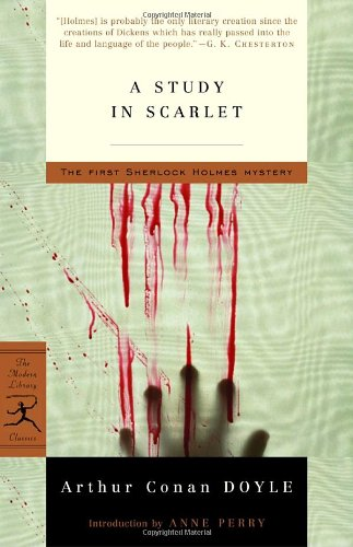 Study in Scarlet   2003 edition cover