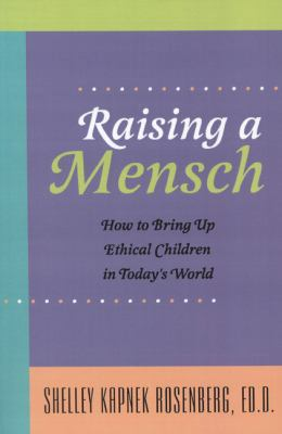 Raising a Mensch   2003 9780827607545 Front Cover