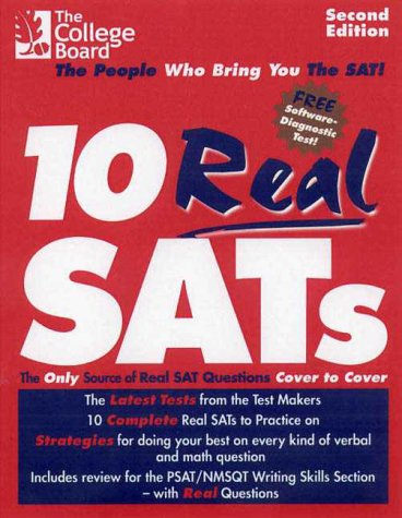 10 Real SATs 2nd 2000 (Revised) edition cover