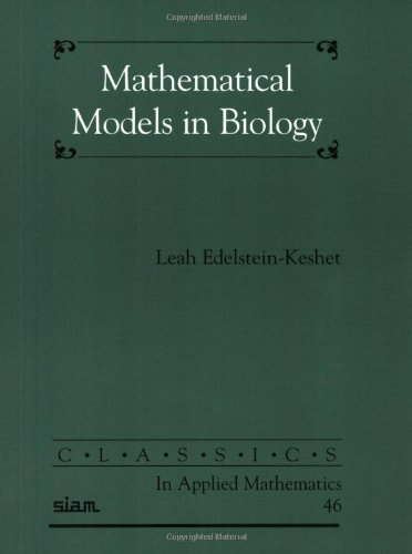 Mathematical Models in Biology   2004 edition cover