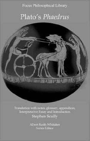 Plato Phaedrus   2003 edition cover