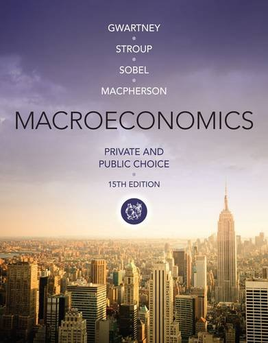 Macroeconomics: Private and Public Choice  2014 edition cover