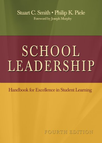 School Leadership Handbook for Excellence in Student Learning 4th 2006 (Revised) edition cover