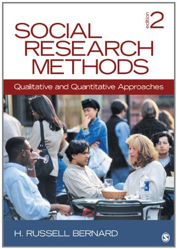 Social Research Methods Qualitative and Quantitative Approaches 2nd 2013 edition cover