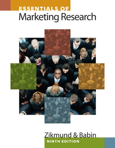 Essentials of Marketing Research (with Qualtrics Card)  4th 2010 9781439047545 Front Cover