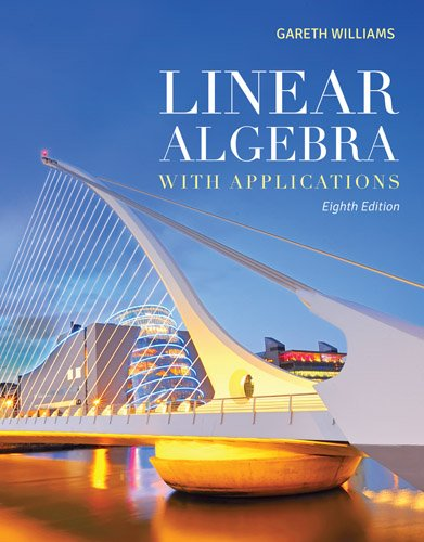 Linear Algebra with Applications  8th 2014 edition cover