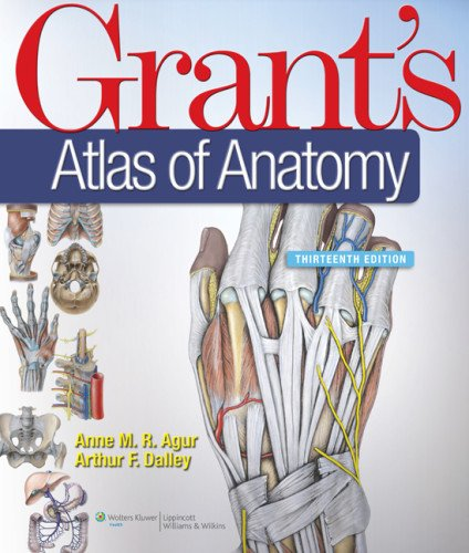 Grant's Atlas of Anatomy  13th 2013 (Revised) edition cover