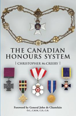 Canadian Honours System   2005 9781550025545 Front Cover