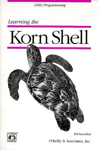 Learning the KornShell  N/A edition cover