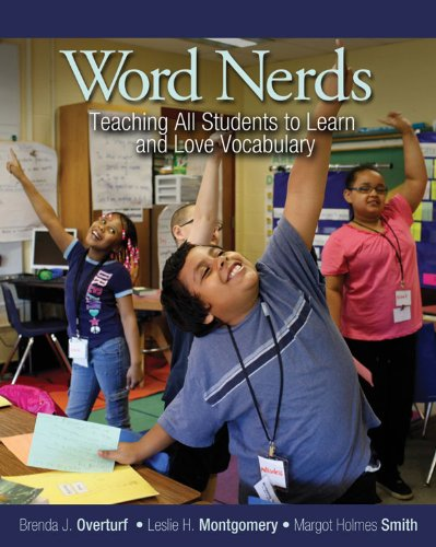 Word Nerds Teaching All Students to Learn and Love Vocabulary  2013 edition cover