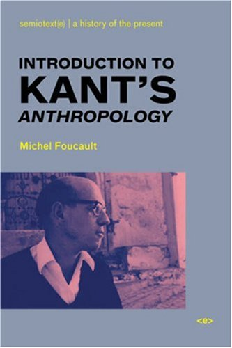 Introduction to Kant's Anthropology   2007 edition cover