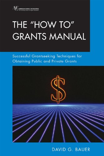 """""""How to"""" Grants Manual Successful Grantseeking Techniques for Obtaining Public and Private Grants 6th 2009 (Revised) edition cover"""