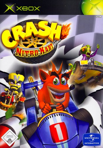 Crash: Nitro Kart Xbox artwork
