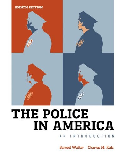 Police in America An Introduction 8th 2013 9780078026546 Front Cover