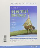 Campbell Essential Biology + Masteringbiology With Etext: Books a La Carte Edition  2015 edition cover