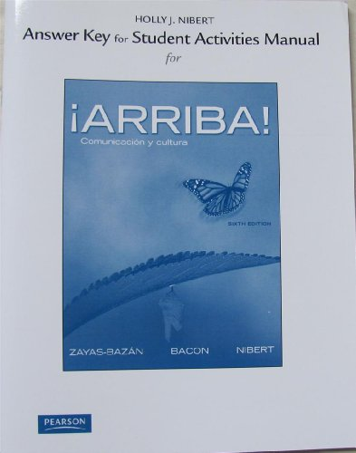 iArriba! Comunicaci�n y Cultura 6th 2012 edition cover