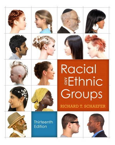 Racial and Ethnic Groups (Black and White Version)  13th 2012 edition cover