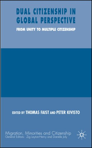 Dual Citizenship in Global Perspective From Unitary to Multiple Citizenship  2007 9780230006546 Front Cover