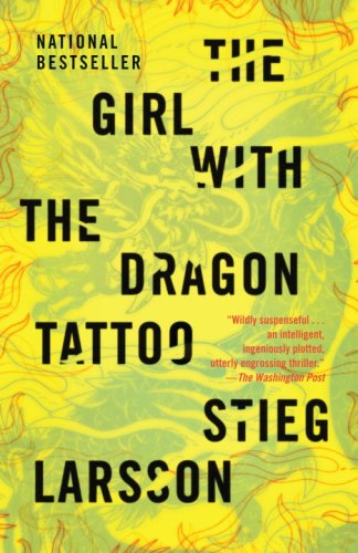 Girl with the Dragon Tattoo   2009 edition cover