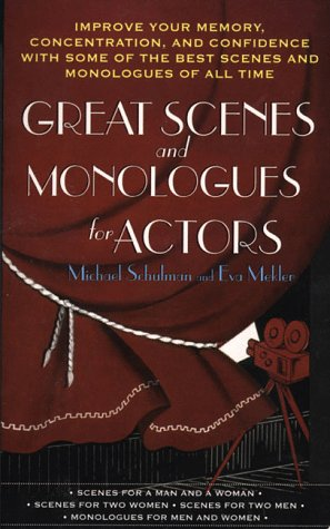 Great Scenes and Monologues for Actors   1998 edition cover