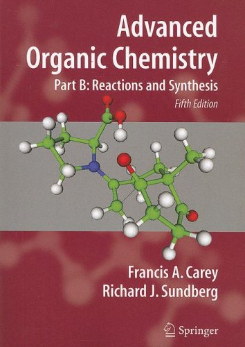 Advanced Organic Chemistry Reactions and Synthesis 5th 2007 (Revised) edition cover