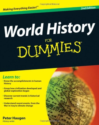 World History for Dummies�  2nd 2009 edition cover