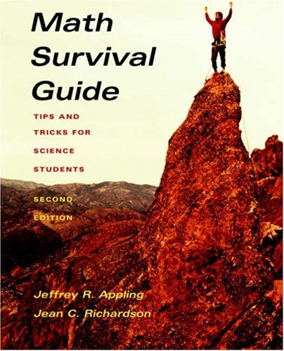 Math Survival Guide Tips for Science Student 2nd 2004 (Revised) edition cover