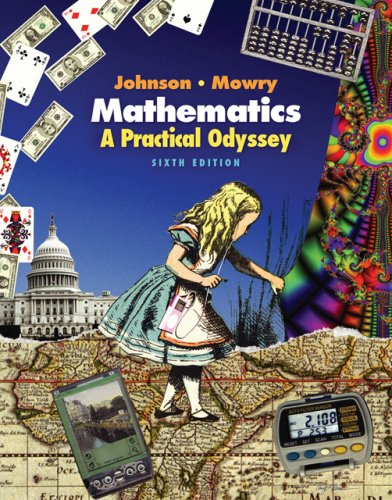 Mathematics A Practical Odyssey, 2nd Printing 6th 2007 edition cover