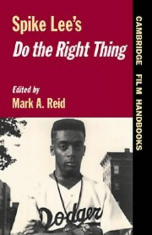 Spike Lee's Do the Right Thing   1997 9780521559546 Front Cover